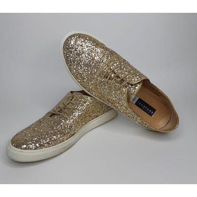 Tênis Fratelli Rossetti Glitter Dourado
