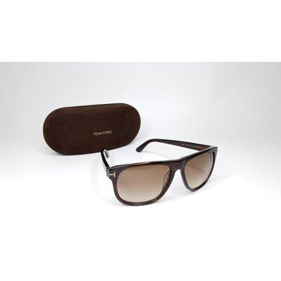 Óculos Tom Ford Acetato Marrom