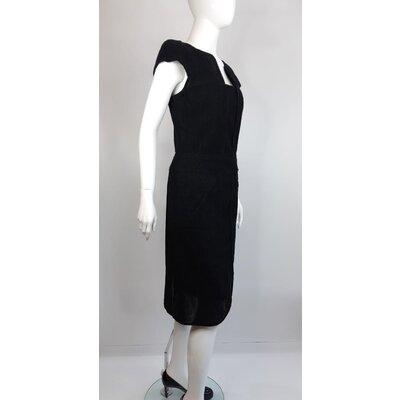 Vestido Chanel Cotton Preto