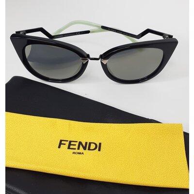 Óculos Fendi Orchidea FF 0118/S Preto com Verde