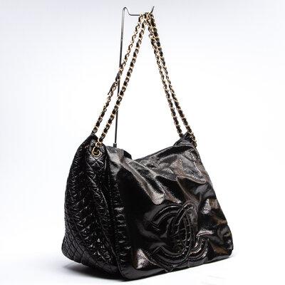 Bolsa Chanel Verniz Preta