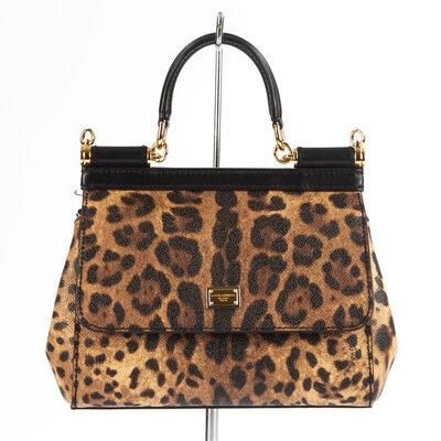 Bolsa Dolce & Gabbana Canvas Animal Print