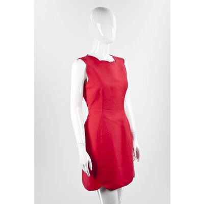 Vestido Christian Dior em vermelho