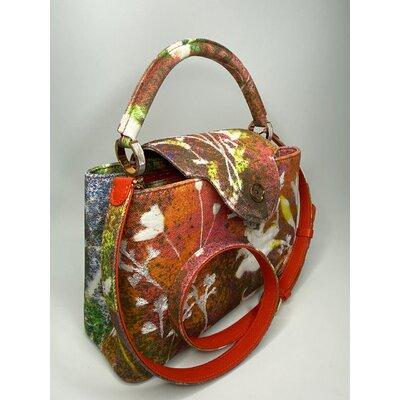 Bolsa Louis Vuitton Artycapucines PM De Sam Falls Edição Limitada (Num 230) Multicolorida