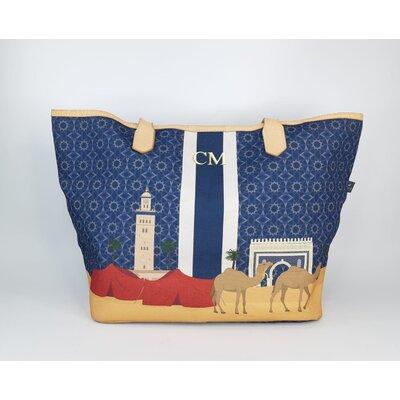 Shopping Bag Flávia Carvalho, Pinto Nylon Estampado