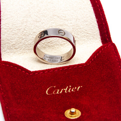 Anel Cartier Love