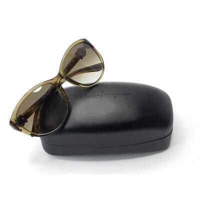 Óculos Salvatore Ferragamo Acetato Verde Oliva