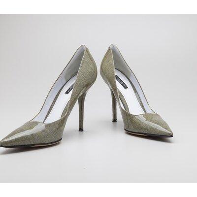 Sapato Dolce & Gabbana em verniz verde claro