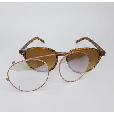 Óculos Garrett Leigth X Thierry Lasry Espelhado com armação Tartaruga