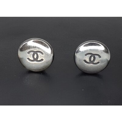 Brinco Chanel Pressão Rock Clip-On