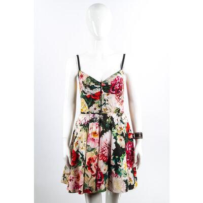Vestido de Alça Dolce & Gabbana Cotton Floral