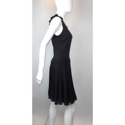 Vestido Miu Miu Malha Cotton Preto