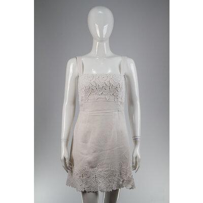 Vestido Dolce & Gabbana Guipir Branco