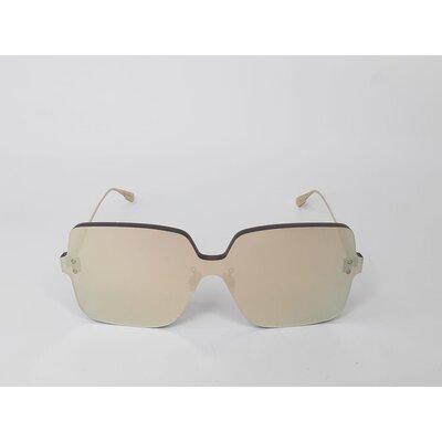 Óculos Christian Dior Color Quake1 Espelhado Dourado