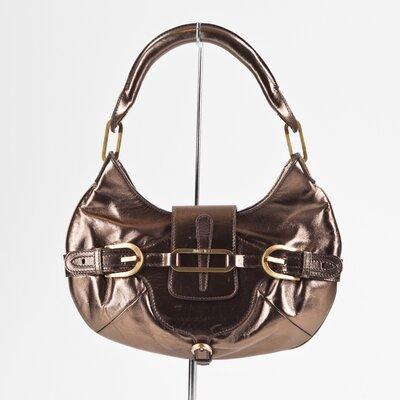 Bolsa Jimmy Choo em couro bronze