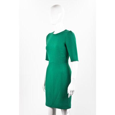 Vestido Dolce & Gabbana em crepe verde
