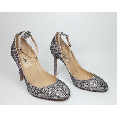 Sapato Valentino Bege com Crystal