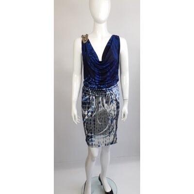 Vestido Pucci, Jersey, Azul