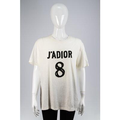 T-Shirt Christian Dior J'Adior Off White