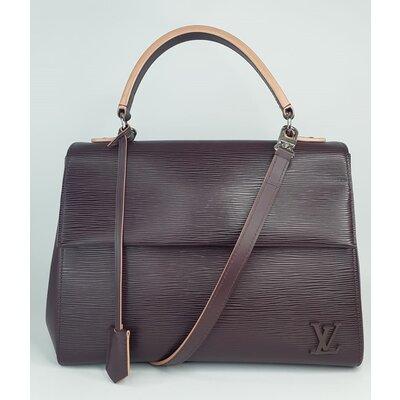 Bolsa Louis Vuitton Cluny MM Epi Ameixa