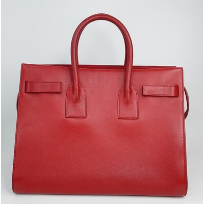 Bolsa Yves Saint Laurent Small Sac De Jour Couro Vermelha
