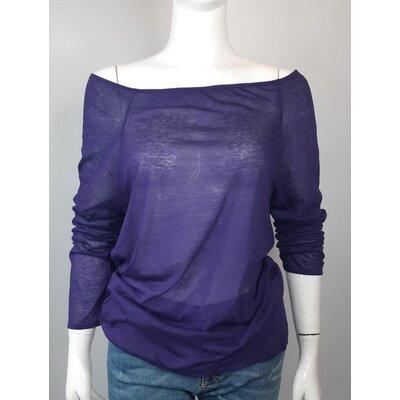 Camisa Miu Miu Cotton Roxa