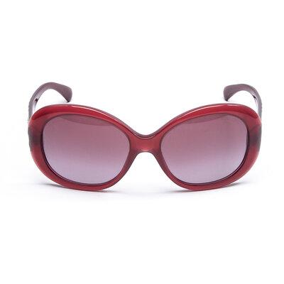 Óculos Chanel Acetato na Cor Ameixa