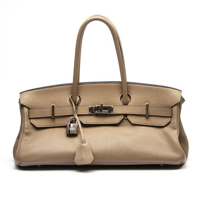 Bolsa Hermès Birkin JPG Togo Etaupe