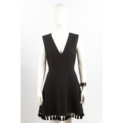 Vestido Christian Dior Crepe Preto