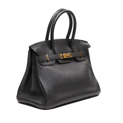 Bolsa Hermès Birkin 30 Preta