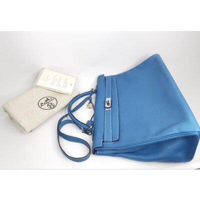 Bolsa Hermès Kelly 40 Togo Azul Jeans