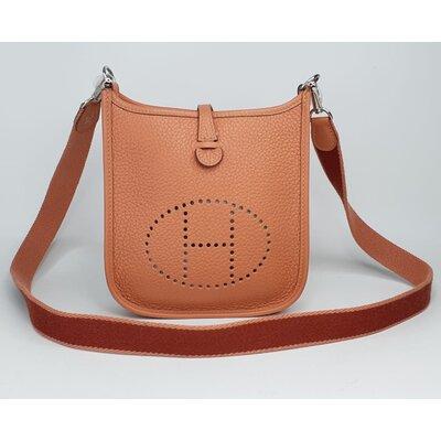 Bolsa Hermès Evelyne 16 Mini TPM Clemence Rose Tea