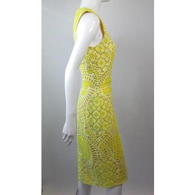 Vestido Alexis Guipir Amarelo