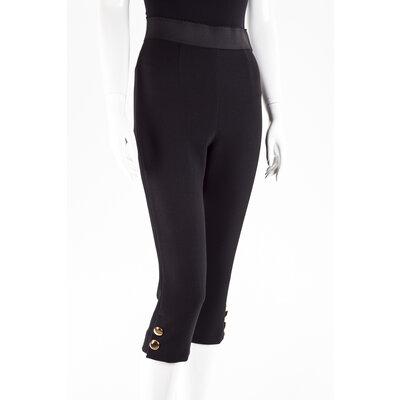 Calça curta Dolce & Gabbana em crepe preta
