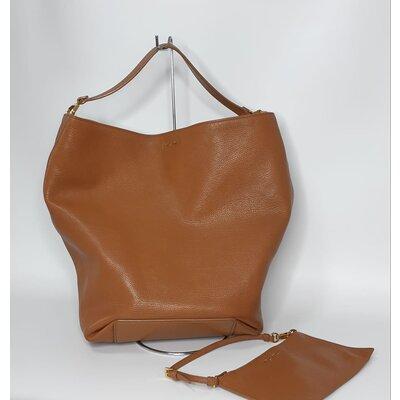 Bolsa Miu Miu Hobo Bucket em Caramelo