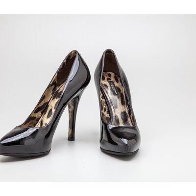 Sapato Dolce & Gabbana em verniz preto
