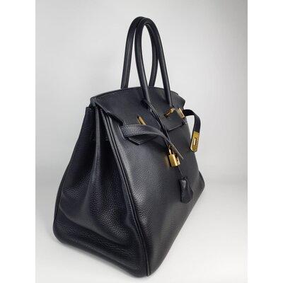 Bolsa Hermès Birkin 35 Togo Preta