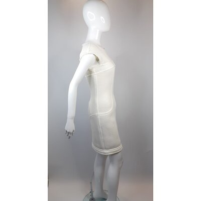 Vestido Chanel Strech Branco