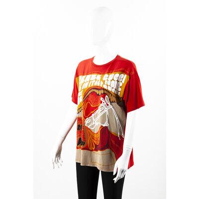 Camiseta Gucci Cotton Coral