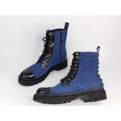 Bota Fherr Shoes, Jeans e Couro
