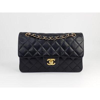 Bolsa Chanel 255 Couro Preta