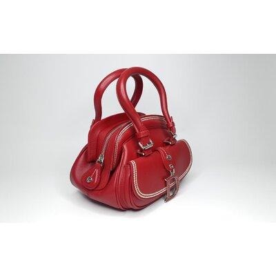 Bolsa Christian Dior Detective Small Couro Vermelha