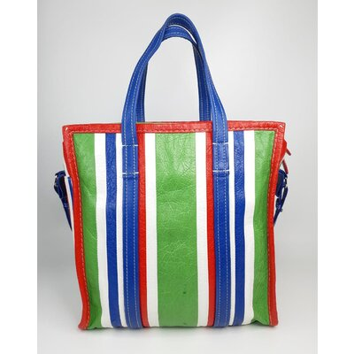 Bolsa Balenciaga Couro Verde Azul e Vermelha