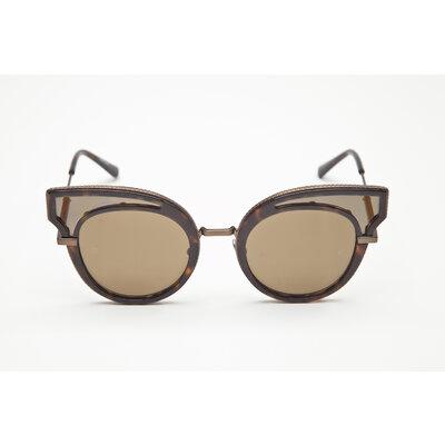 Óculos Bottega Veneta em marrom
