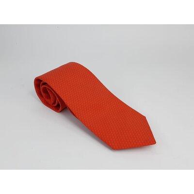 Gravata Hermès Seda Vermelha