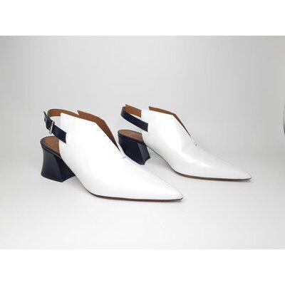 Sapato Givenchy Couro B&W