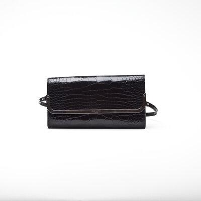 Clutch Louis Vuitton Crocodilo preto