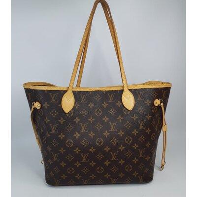 Bolsa Louis Vuitton, Neverfull MM, Monograma