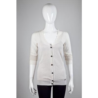 Cardigan Gucci em Cashmere Off White