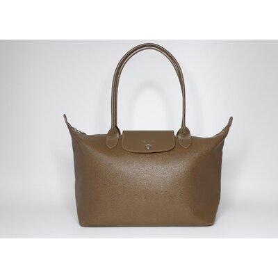 Bolsa Longchamp Couro Verde Oliva